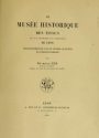 """Cover of """"Le Musée historique des tissus de la Chambre de commerce de Lyon"""""""