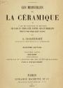 """Cover of """"Les merveilles de la céramique"""""""