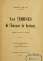 Cover of Les timbres de l'emission de Bordeaux