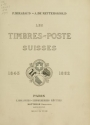 Cover of Les timbres-poste suisses, 1843-1862