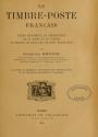 """Cover of """"Le timbre-poste franc̜ais"""""""