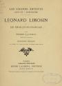 Cover of Léonard Limosin et les émailleurs français