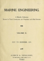 Cover of Marine engineering
