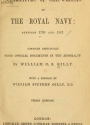 """Cover of """"Narratives of shipwrecks of the Royal Navy"""""""
