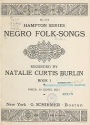"Cover of ""Negro folk-songs"""