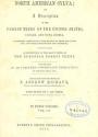"Cover of ""The North American sylva"""