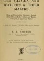 Cover of Old clocks and watches & their makers