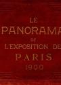 Cover of Le panorama de l'Exposition de Paris 1900