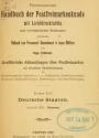 Cover of Permanentes Handbuch der Postfreimarkenkunde mit Lichtdrucktafeln