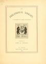 "Cover of ""The philatelical library"""