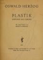 Cover of Plastik; Sinfonie des Lebens