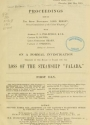 Cover of Proceedings before the Right Honourable Lord Mersey, Wreck Commissioner of the United Kingdom