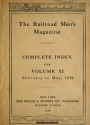 "Cover of ""Railroad man's magazine"""