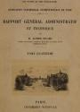 Cover of Rapport général administratif et technique t. 4