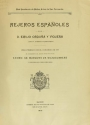 Cover of Rejeros españoles