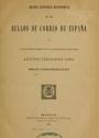 """Cover of """"Reseña histórico-descriptiva de los sellos de correo de España /"""""""