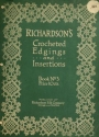 """Cover of """"Richardson's crocheted edgings and insertions"""""""