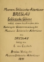 Cover of Schlesische gläser