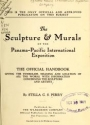 "Cover of ""The sculpture & murals of the Panama-Pacific international exposition; the official handbook, giving the symbolism, meaning and location of all works,"""