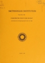 "Cover of ""Smithsonian Institution fiscal year ... unrestricted trust fund budget and recap of all nonappropriated funds"""
