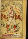 """Cover of """"Spalding's base ball guide, and official league book"""""""
