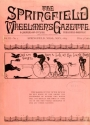 "Cover of ""The Springfield wheelmen's gazette"""