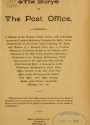 Cover of The story of the post office