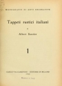"Cover of ""Tappeti rustici italiani"""