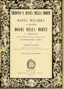 """Cover of """"Trionfo e danza della morte; o, Danza macabra a Clusone"""""""