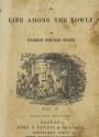 Cover of Uncle Tom's cabin, or, Life among the lowly v1-2 (1852)