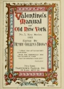 """Cover of """"Valentine's manual of old New York"""""""