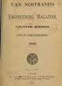 Cover of Van Nostrand's engineering magazine