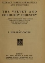 "Cover of ""The velvet and corduroy industry"""