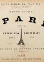 Cover of Vingt jours al Paris pendant l'Exposition universelle, 1889
