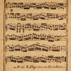 sheet music from 1783