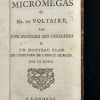 Title page of Le Micromegas
