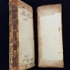 The Plate Glass Book; partially legible inscription from the book's initial owner, dated 1864.