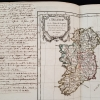 Map of Ireland from Nouvel Atlas Portatif, with Annotations