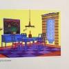 Design for an interior from Raume und Menschen