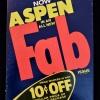 Cover of Aspen volume 1 issue 3