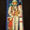 Cover of the book Andy astronaut  depicting a drawing of a man in a space suit