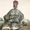 Bamana woman richly dressed