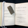 Origin of Species open with spine fragment on title page