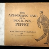 The Astonishing Tale of a Pen & Ink Puppet, cover