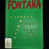 """Fontana artist book with green cover and signature """"buchi"""""""