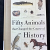 Fifty Animals That Changed the Course of History, cover