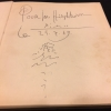 Picasso, by Keith Sutton, original Picasso doodle signed, dated, and inscribed to Joseph Hirshhorn