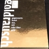 Goldrausch: Gegenwartskunst aus, mit oder, uber Gold, cover