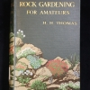 Cover of Rock Gardening for Amateurs