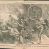 Two Page spread of Iroquois Theatre Fire Coverage from National Police Gazette